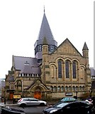NZ2564 : Church of St James, Northumberland Road by Andrew Curtis