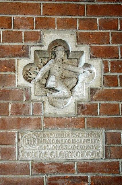 St Andrew, High Road, Willesden, London NW10 - Memorial
