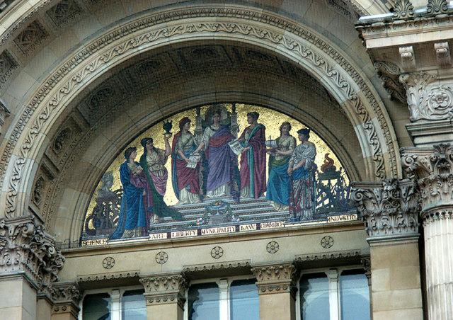 City Council House mosaic
