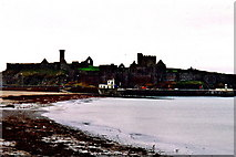 SC2484 : Peel - Castle view from east end of Shore Road by Joseph Mischyshyn