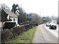 TG2205 : Ipswich Road (A140) past the Marsh Harrier public house by Evelyn Simak