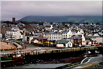 SC2484 : Peel - View of the quay and west end of town by Joseph Mischyshyn