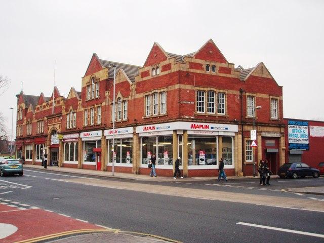 Maplin shop on Linthorpe Road