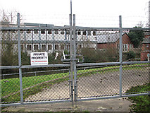 TG2407 : Gated access to pumping station by Evelyn Simak