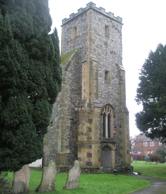 The church tower at St Mary's, East Preston