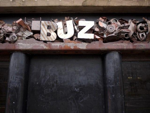 Entrance to former Buz nightclub, John Dobson Street