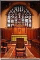 TQ1291 : St Anselm, Hatch End - Chancel by John Salmon