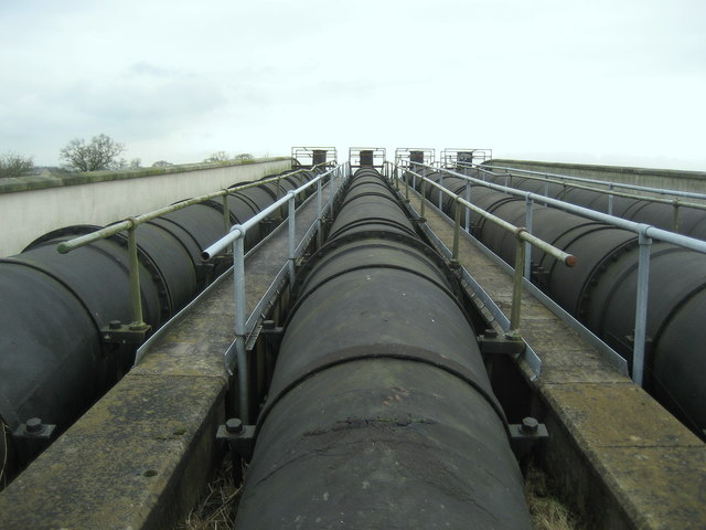 Water Pipes over the River Ribble