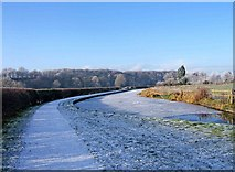SO8690 : Staffordshire & Worcestershire Canal in winter by P L Chadwick