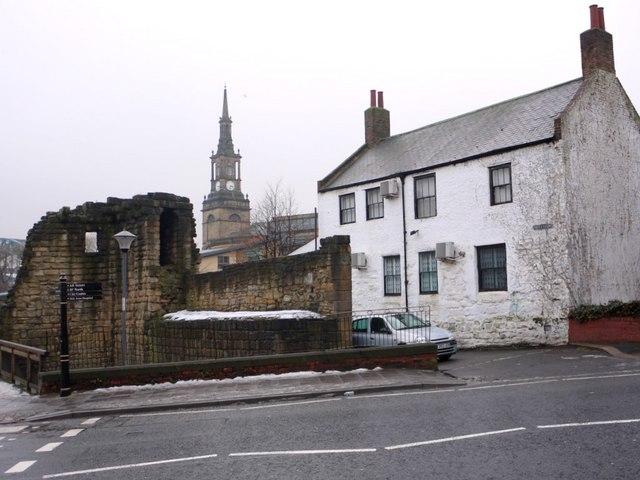 Corner Tower and Gardener's cottage, City Road