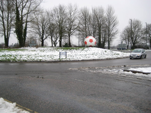 Crawley: The Football roundabout