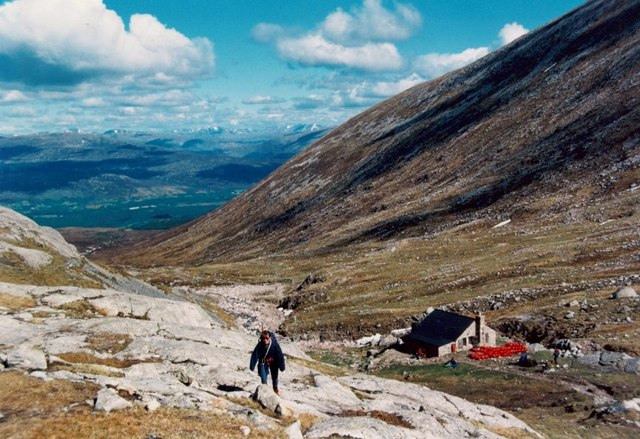 The CIC Hut, Coire Leis