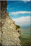 SH6963 : 'The Gangway' on Mur Y  Niwl of Craig yr Ysfa by Richard Law
