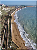 TR3140 : Dover Beach  by Andy Stephenson