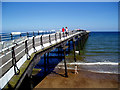 NZ6621 : Saltburn Pier by Dr Neil Clifton
