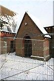 SU5985 : Chapel porch by Bill Nicholls