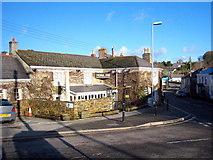 SW9750 : The Hewas Inn in Sticker by Rod Allday