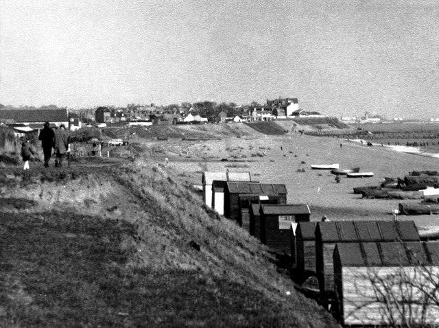 Pakefield Beach around 1970