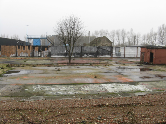 Industrial Dereliction On Globe Lane