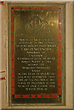 TQ2550 : St Mary's Church, Reigate - Howard of Effingham plaque by Ian Capper