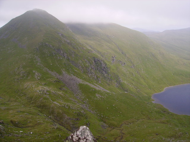 An Stuc from the summit of Ben Lawers