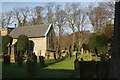 SK2176 : Eyam Churchyard by Bill Boaden