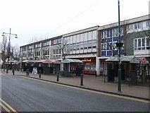 SJ9400 : Shops in the High Street by John M
