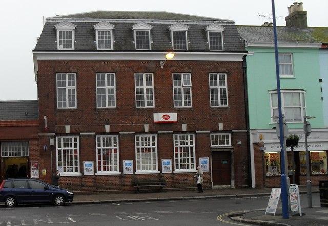 Bognor Regis Post Office in the High Street
