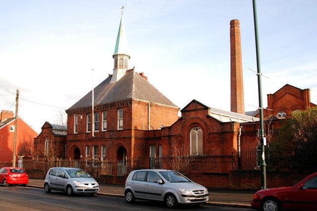 Former Templemore Avenue public baths, Belfast (1)
