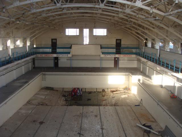 HMS Ganges, Shotley, Suffolk  (swimming pool)