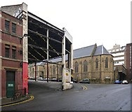 NZ2564 : Former Worswick Street Bus Station by Andrew Curtis