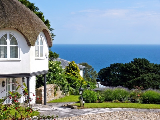 Umbrella Cottage ~ A View To The Sea