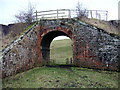 NZ0918 : Occupation bridge under old railway by Andy Waddington