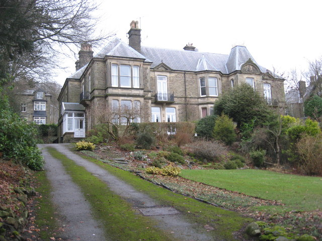 """""""Melrose"""" Park Road Buxton former home of Vera Brittain"""