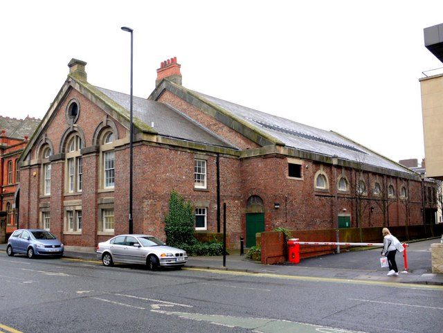 Army riding school, Northumberland Road