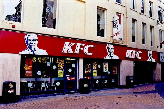 Douglas - Duke Street - KFC (Kentucky Fried Chicken)