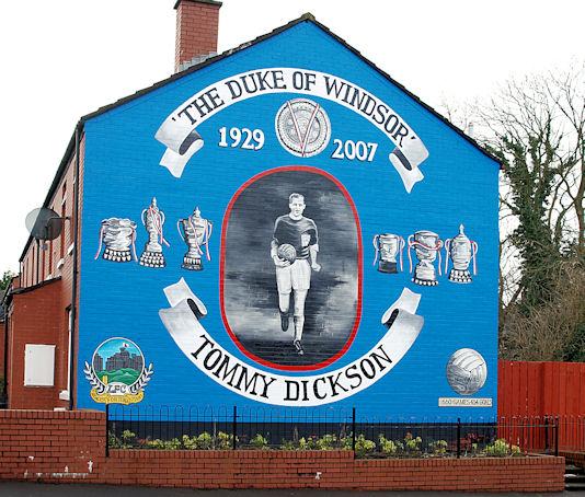 Tommy Dickson Mural Belfast 169 Albert Bridge Geograph