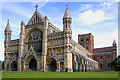 TL1407 : St. Alban's Abbey, St. Albans, Herts. by nick macneill