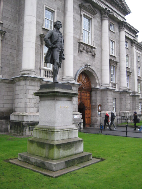 Statue of Edmund Burke, Trinity College, Dublin