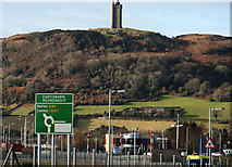 J4973 : The Castlebawn roundabout, Newtownards (1) by Albert Bridge