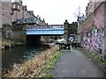 NT2472 : Towpath leading to bridge carrying Yeaman Place over the Union Canal by Christine Johnstone