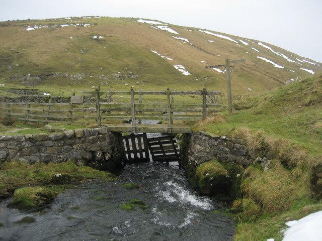 Footbridge over Cowside Beck