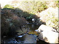 NR9875 : Allt Dubh which drains boggy ground below Beinn Capuill by John Ferguson
