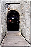 SC2667 : Castletown - Castle Rushen - First of two entrances by Joseph Mischyshyn