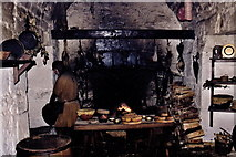 SC2667 : Castletown - Castle Rushen - 17th century kitchen by Joseph Mischyshyn