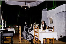 SC2667 : Castletown - Castle Rushen - 17th century dining room by Joseph Mischyshyn