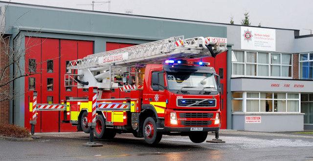 Fire appliance, Belfast