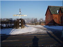 NY3458 : Crossroads at Monkhill by Tom Howe