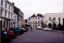 SC2667 : Castletown - Market Square, Arbory St, Malew St by Joseph Mischyshyn