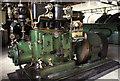 TQ0669 : Steam dynamo set, Littleton Pumping Station by Chris Allen
